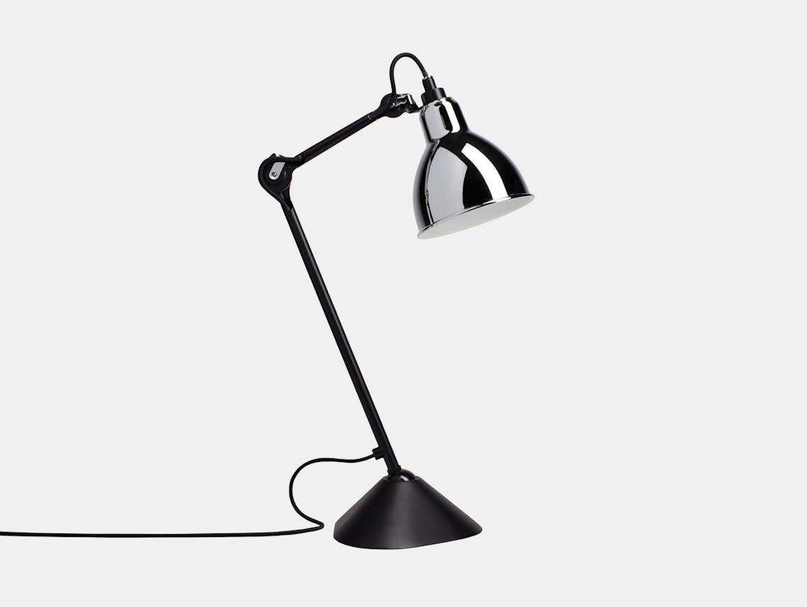 Dcw Lampe Gras No 205 Table Lamp Chrome Bernard Albin Gras