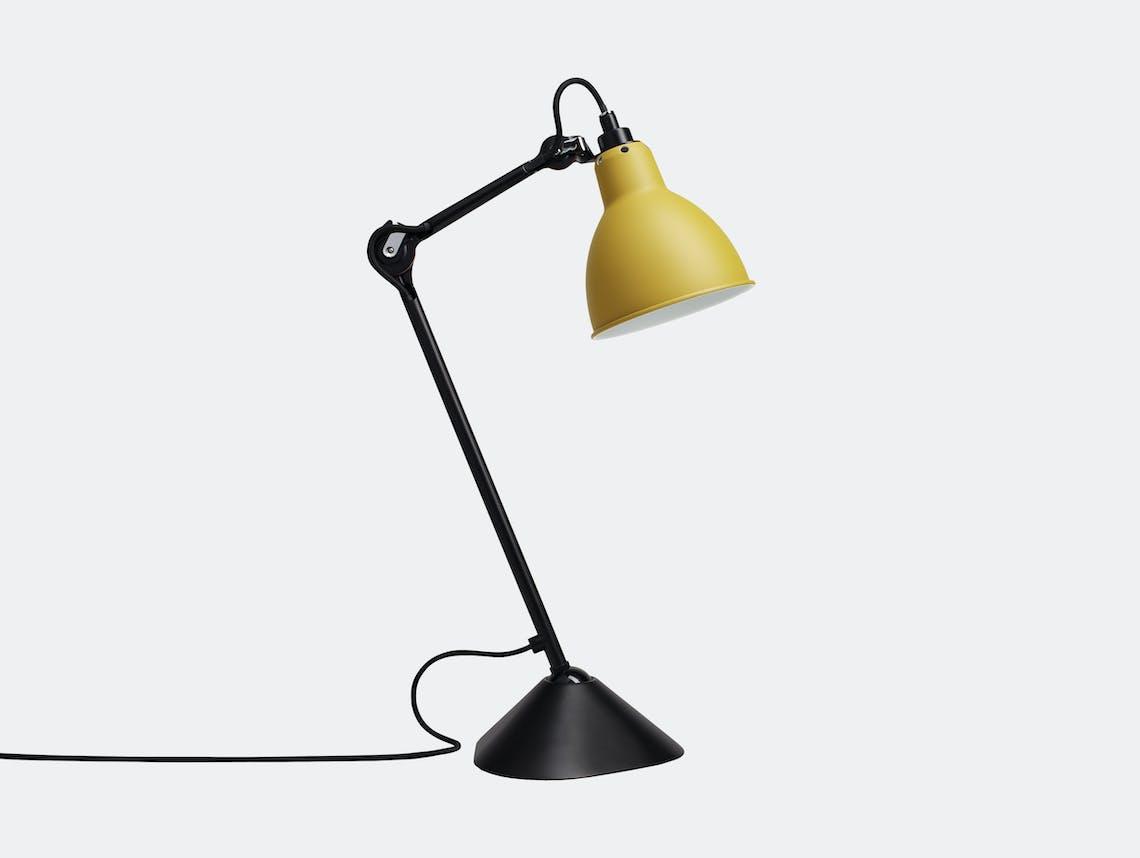 Dcw Lampe Gras No 205 Table Lamp Yellow Bernard Albin Gras