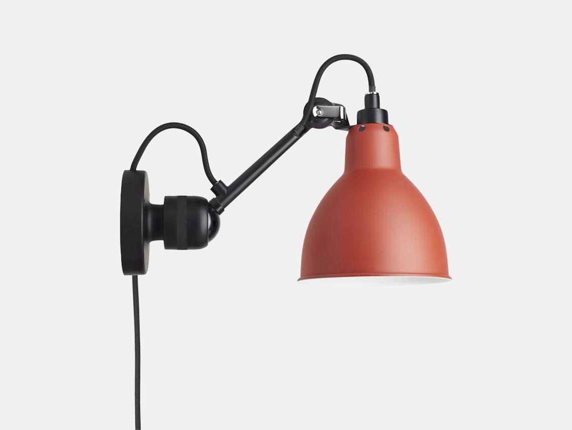 Dcw Lampe Gras No 304 Wall Lamp Red Bernard Albin Gras