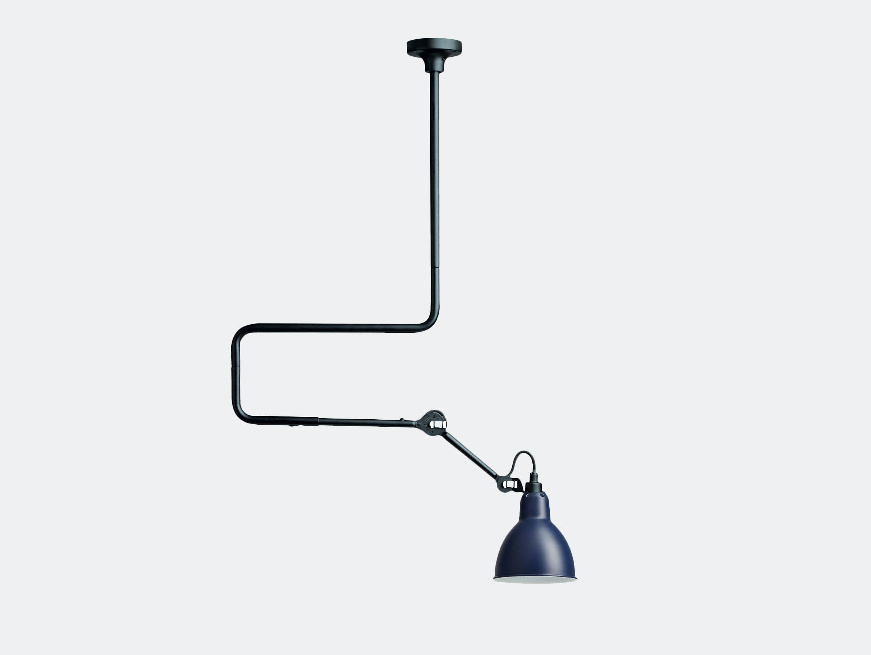 Dcw Lampe Gras No 312 Ceiling Lamp Blue Bernard Albin Gras
