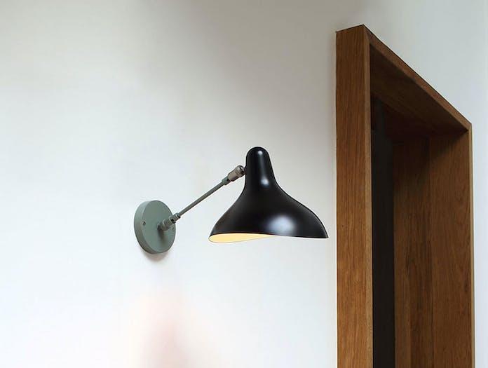 Dcw Bs5 Mantis Wall Light Grey Black Bernard Schottlander