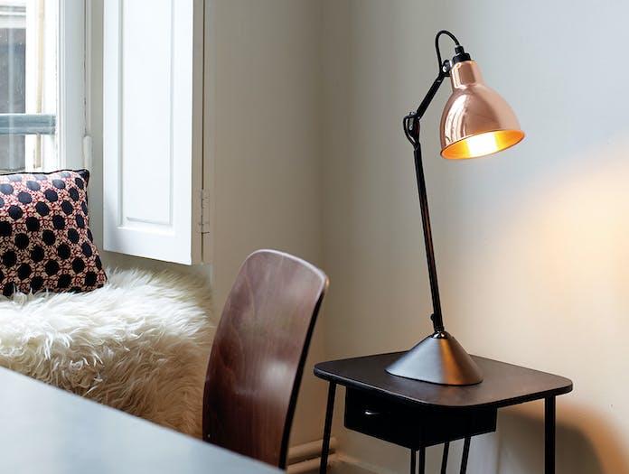 Dcw Lampe Gras No 205 Table Lamp Copper Bernard Albin Gras