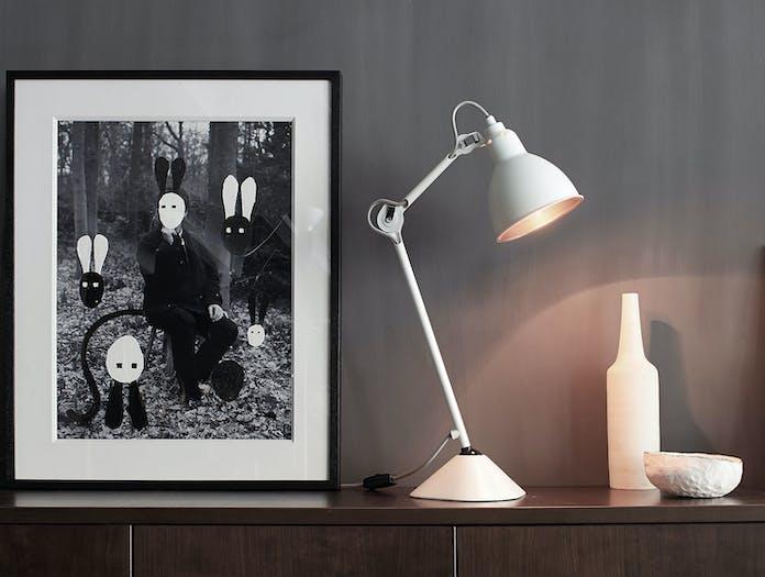 Dcw Lampe Gras No 205 Table Lamp Wh White Bernard Albin Gras