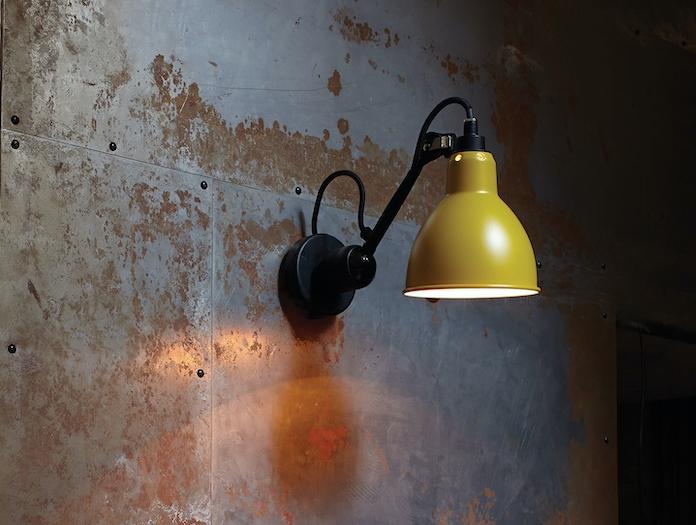 Dcw Lampe Gras No 304 Wall Lamp Yellow 2 Bernard Albin Gras