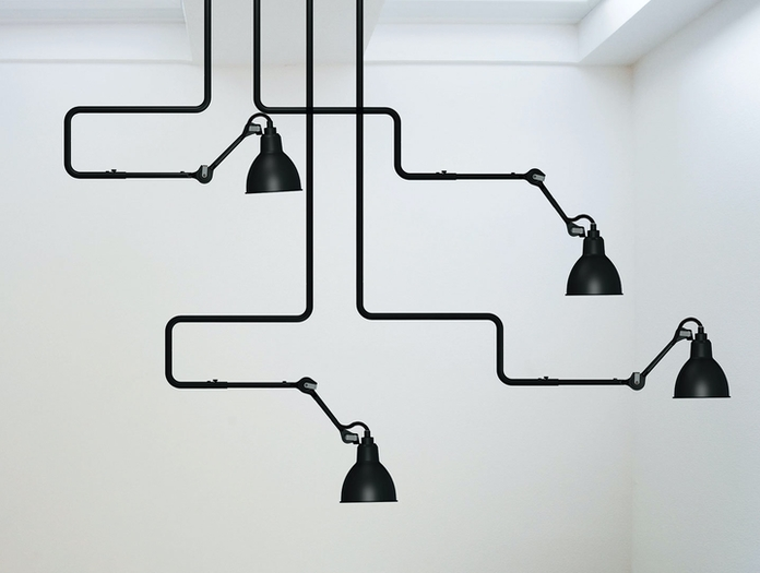 Dcw Lampe Gras No 312 Ceiling Lamp Black Group Bernard Albin Gras