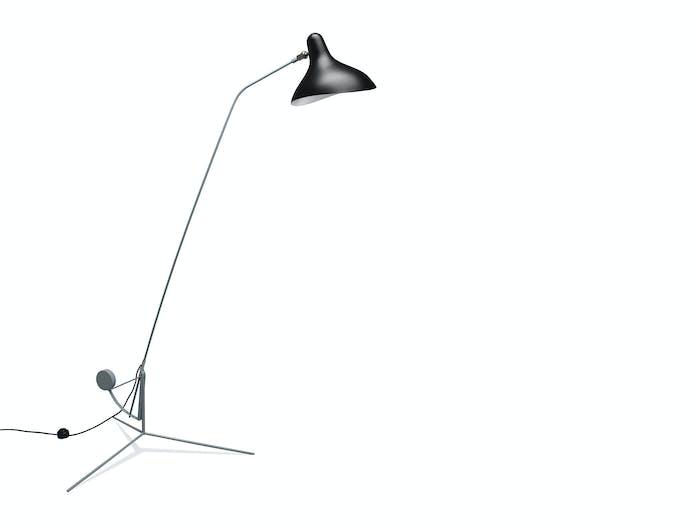 Dcw Mantis Bs1 Floor Lamp Grey Black Bernard Schottlander