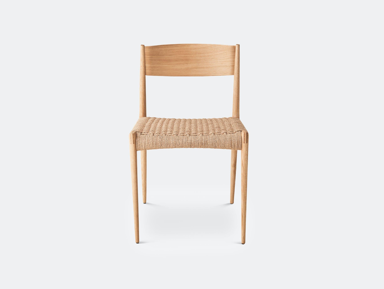 Dk3 pia chair oiled oak