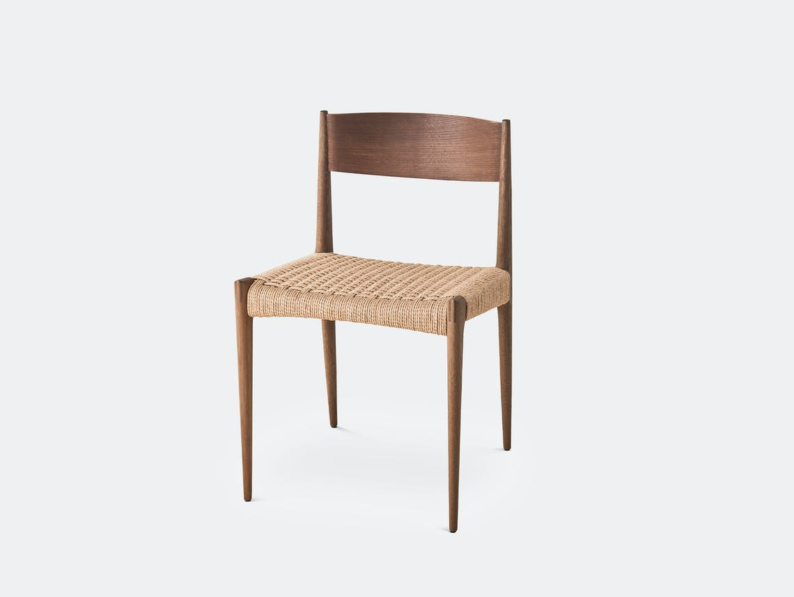 Dk3 pia chair smoked oak