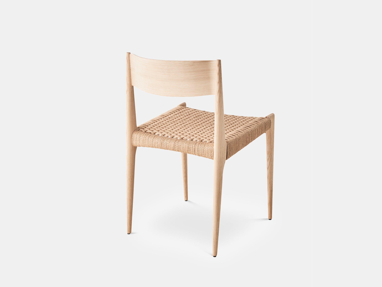 Dk3 pia chair soaped oak 1