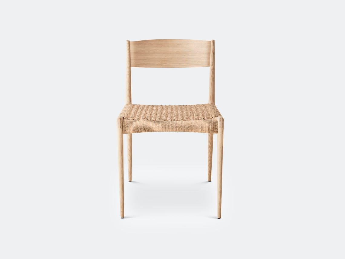 Dk3 pia chair soaped oak