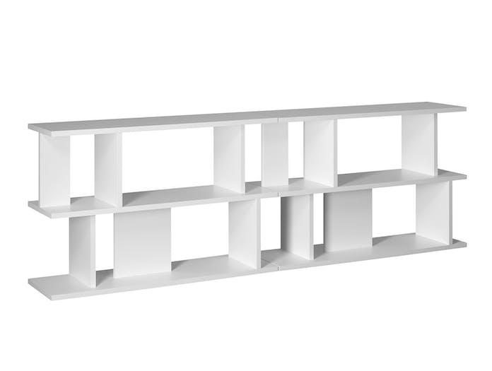 E15 Arie Shelves white low x2 Arik Levy
