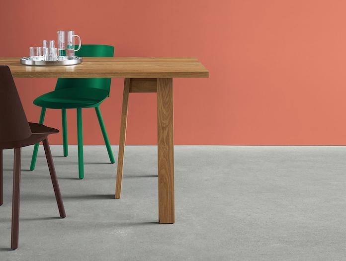 E15 Basis Table Oak Detail David Chipperfield