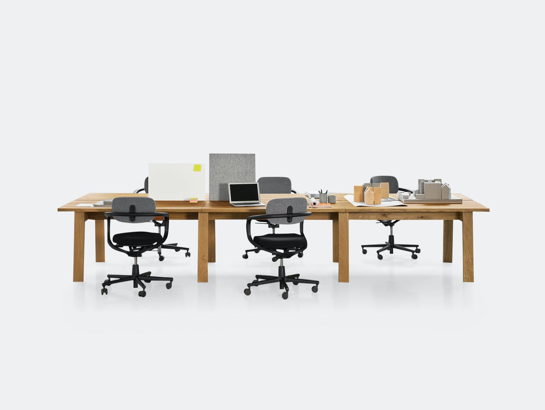 E15 Basis Workstation Desk 1 David Chipperfield