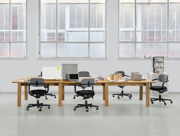 E15 Basis Workstation Desk system David Chipperfield