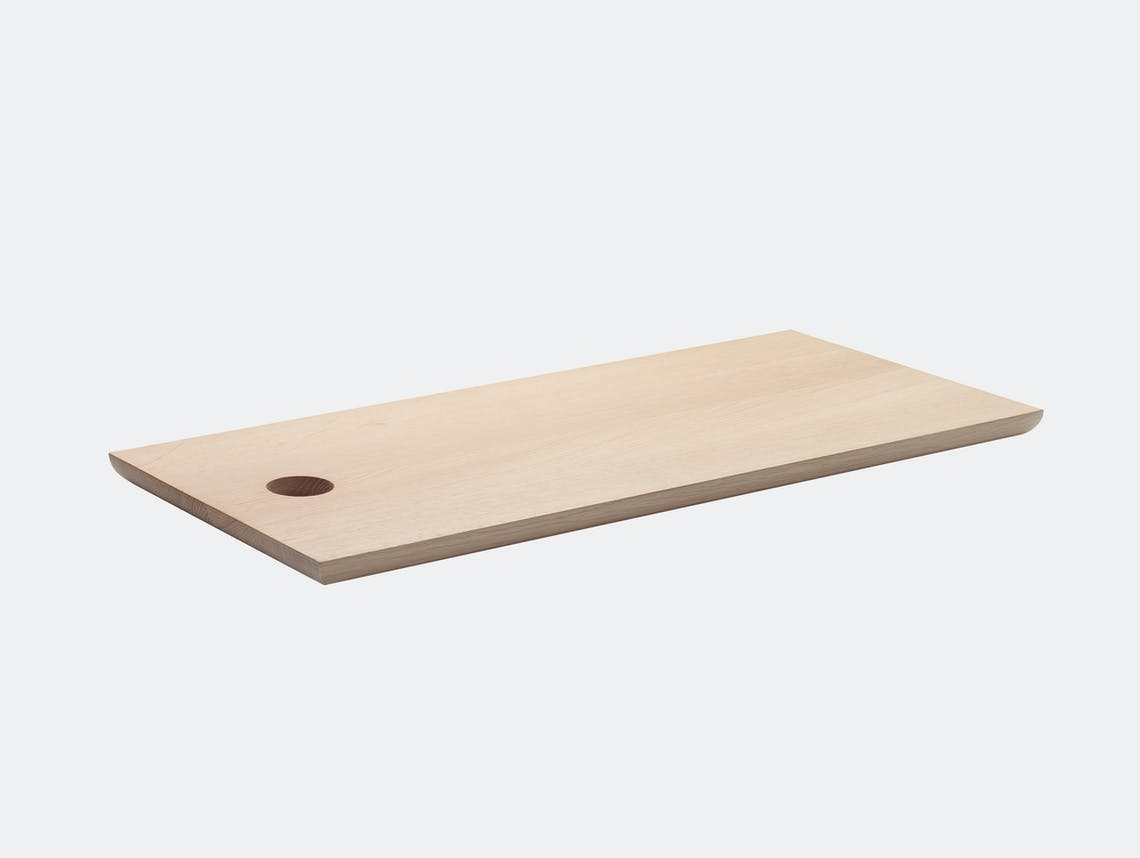 E15 Cut Cutting Board rectangular lg oak Philipp Mainzer