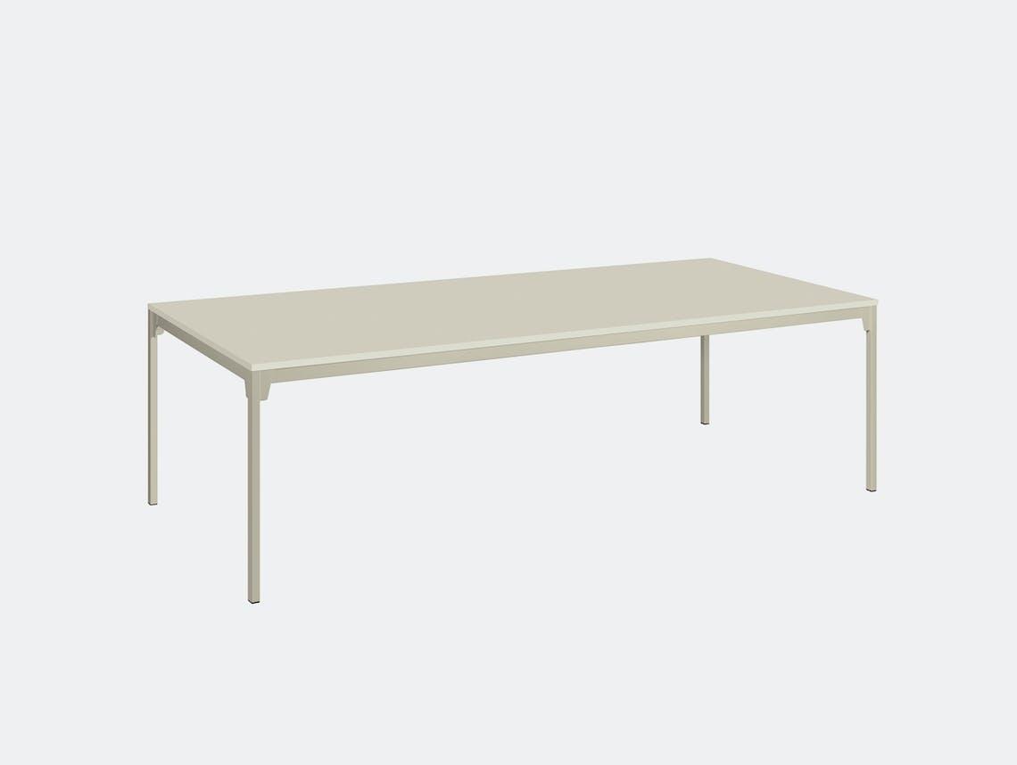 E15 Frankfurt Table silk grey 2 Ferdinand Kramer