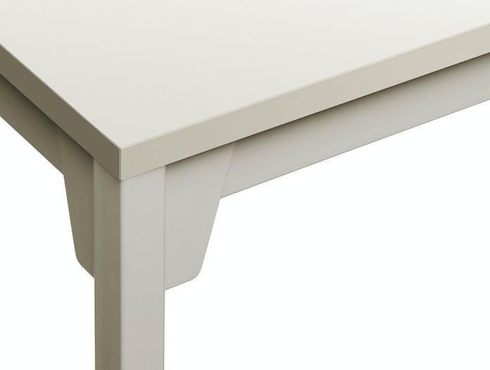 E15 Frankfurt Table silk grey detail Ferdinand Kramer