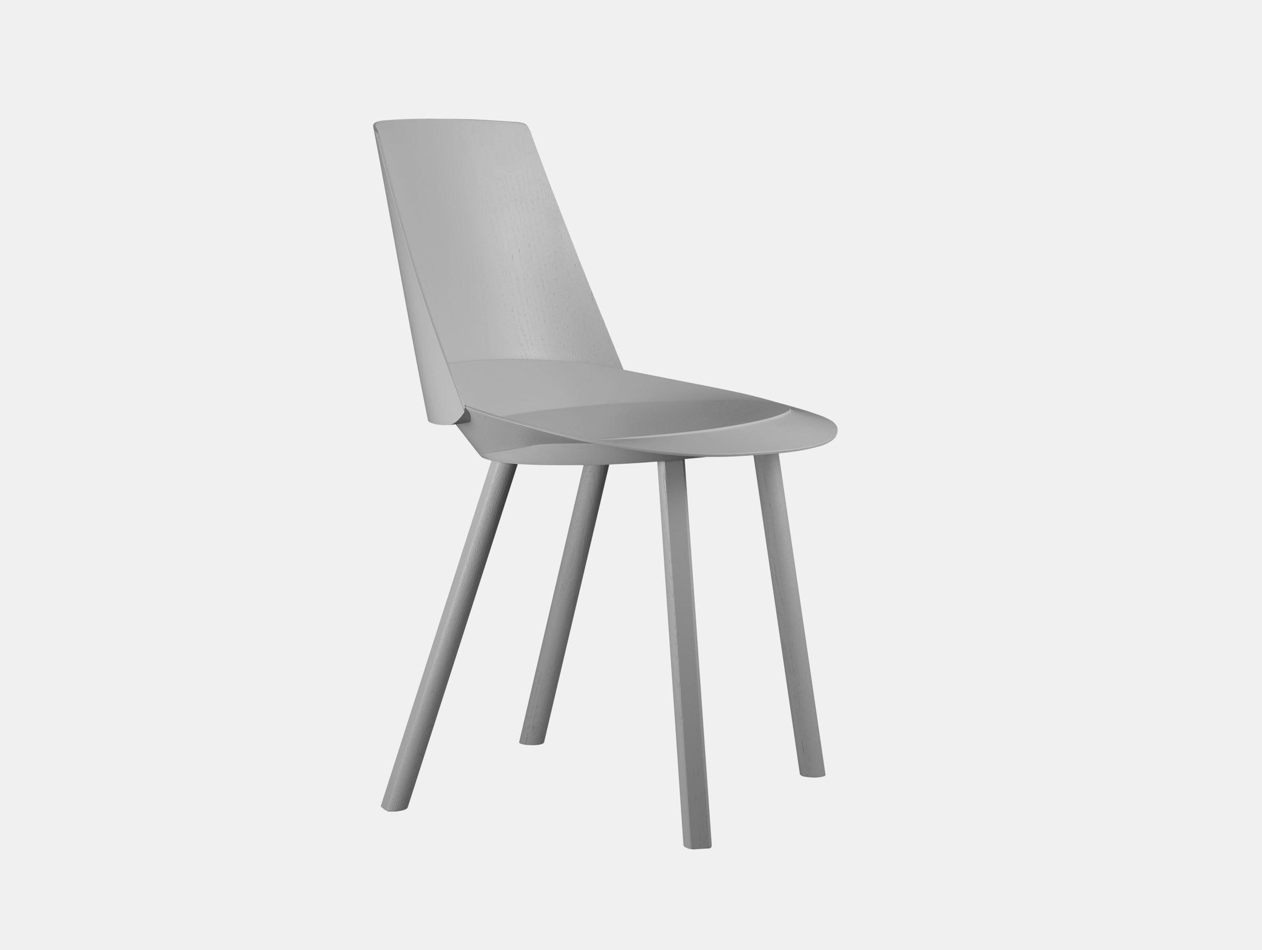 E15 Houdini Chair Traffic Grey Stefan Diez