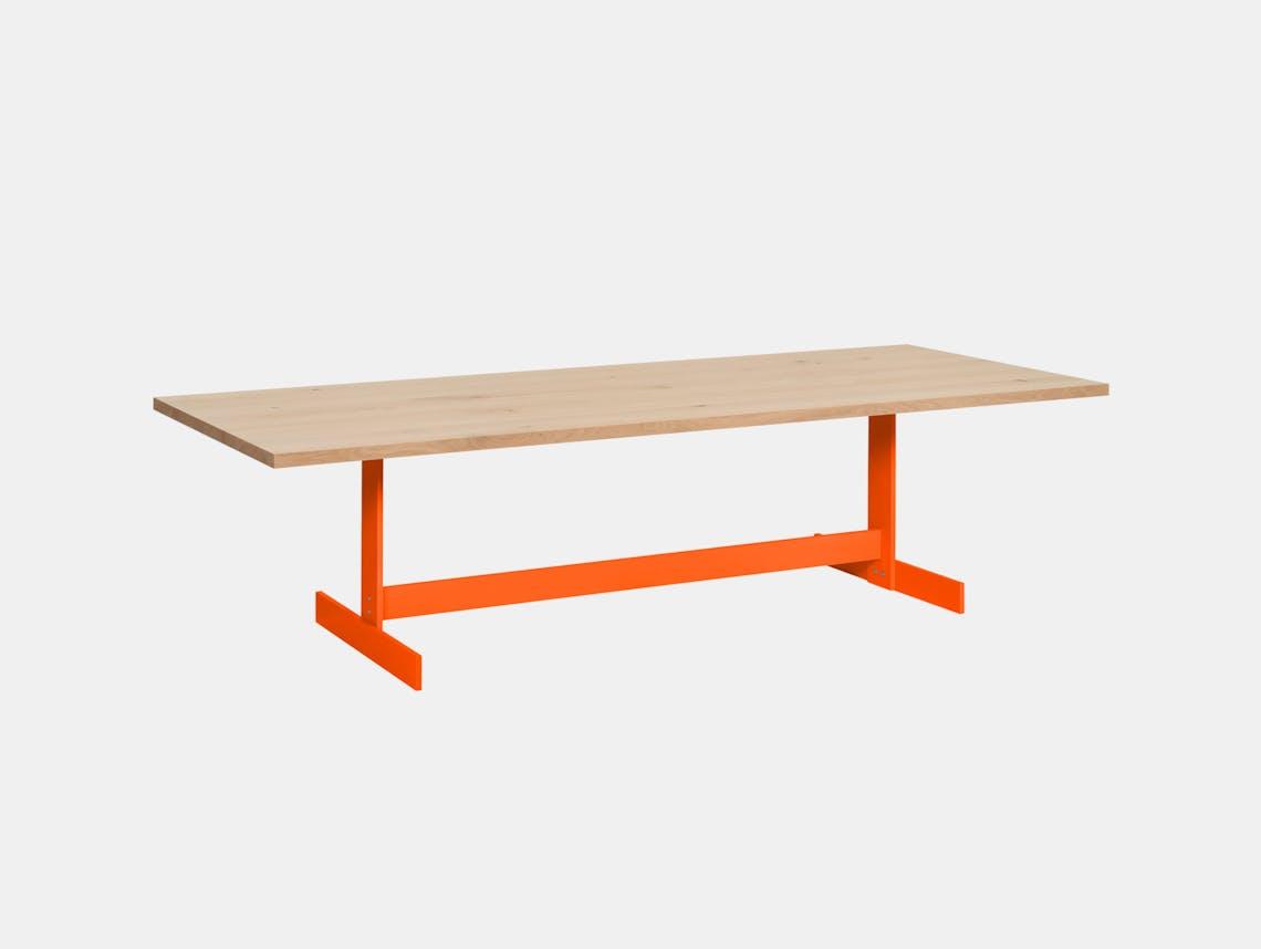 E15 KAZIMIR table pure orange