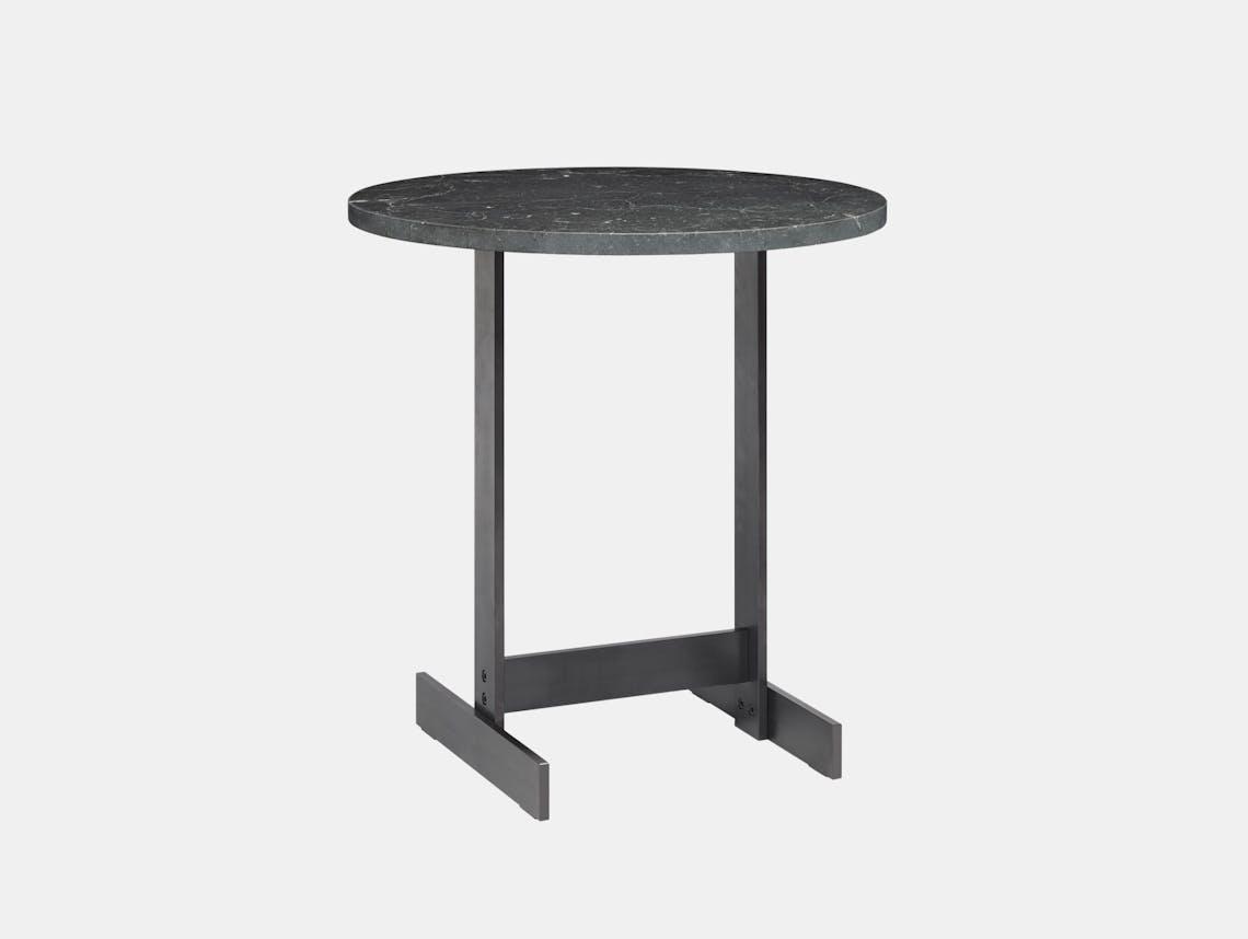 E15 Lazlo Side Table Black Marble Philipp Mainzer