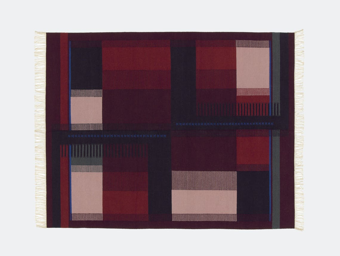 E15 Zet Kilim red blue Richard Herre