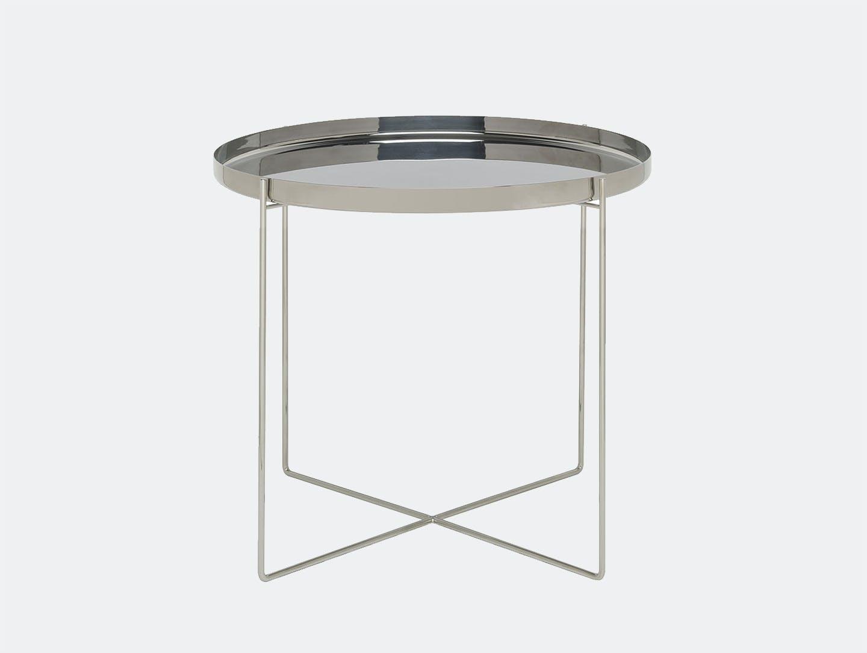 E15 habibi side table stainless steel dia 57 x h 47 cmphilipp mainzer