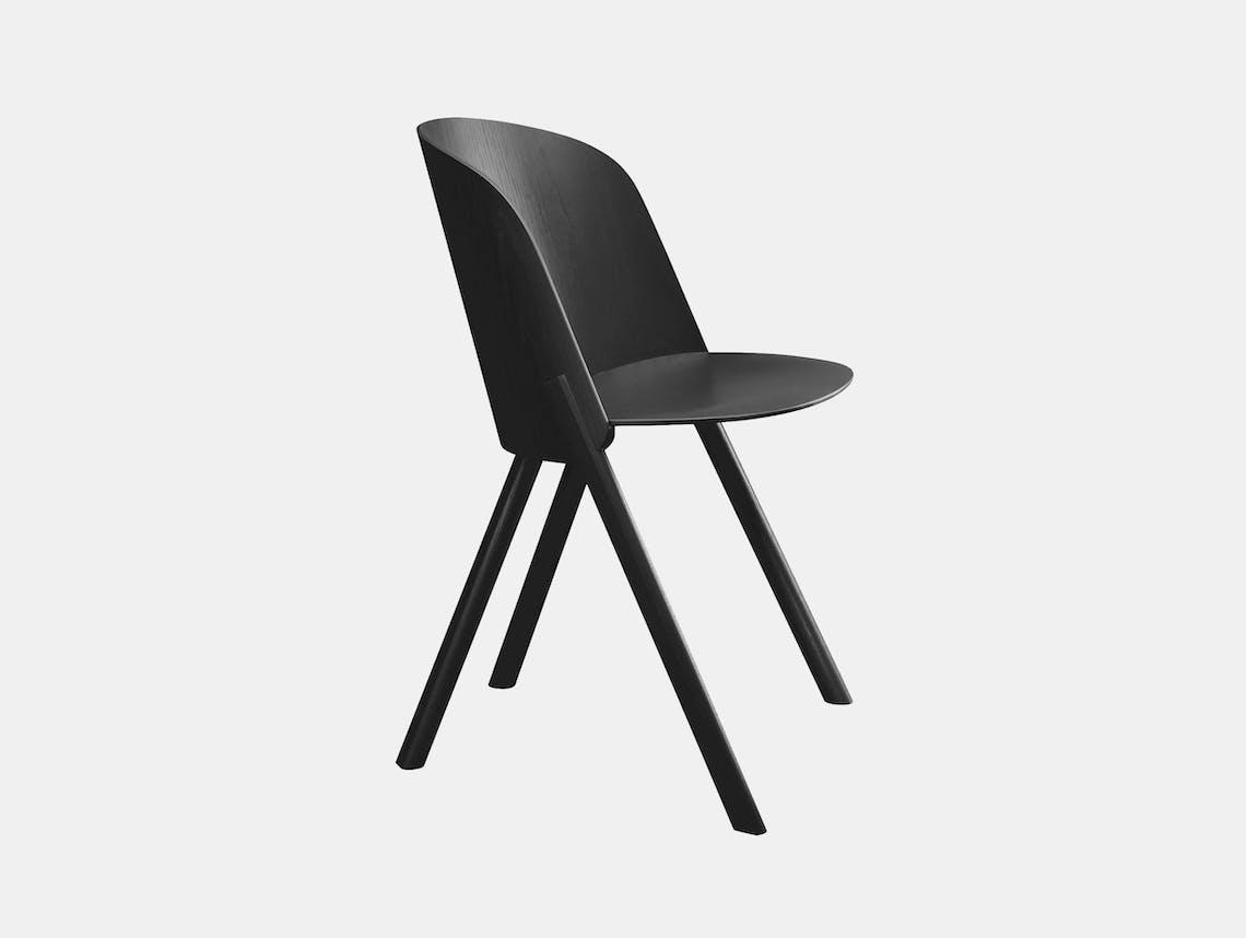 E15 this chair black stefan diez