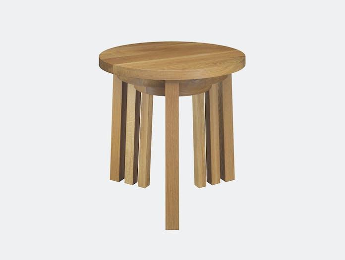 E15 Alex tables set of 3 oak