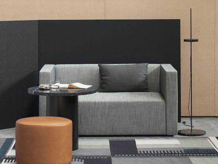 E15 SF06 KERMAN sofa Kvadrat Raf Simons Sunniva pouf CT09 ENOKI LT06 PALO RH02 ZET