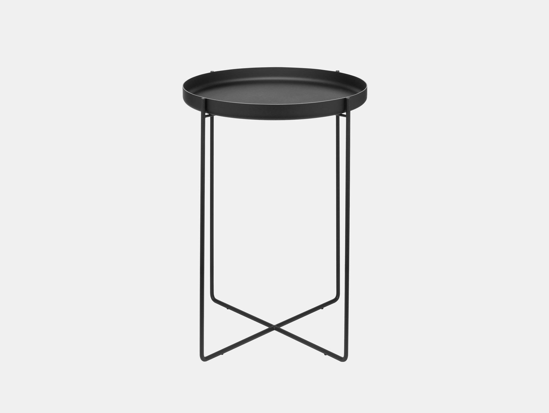 E15 habibi side table black philipp mainzer