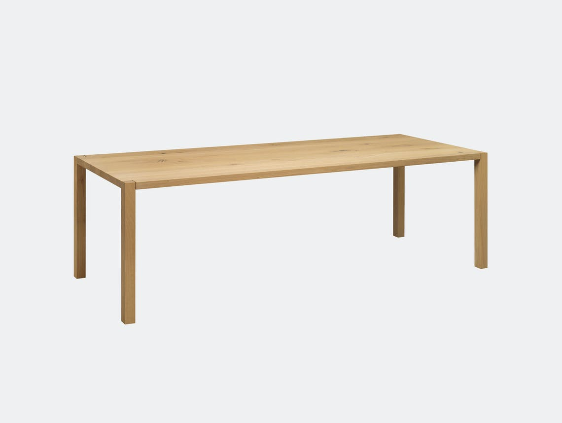 E15 sloane table oiled oak philipp mainzer