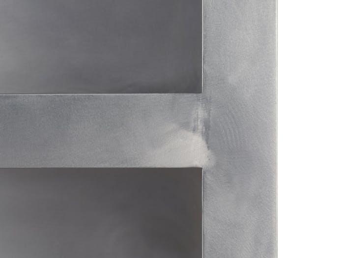 E15 tafel aluminium detail