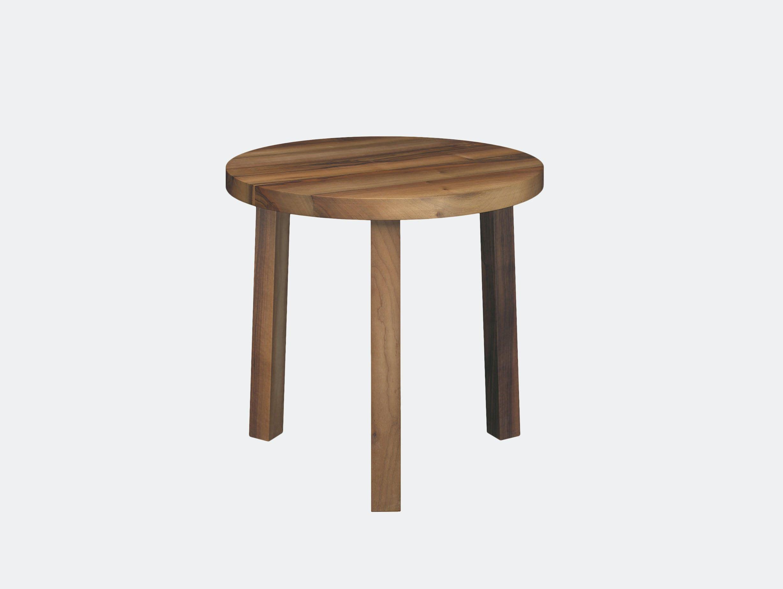 E15 Alex Side Table Walnut Philippe Allaeys