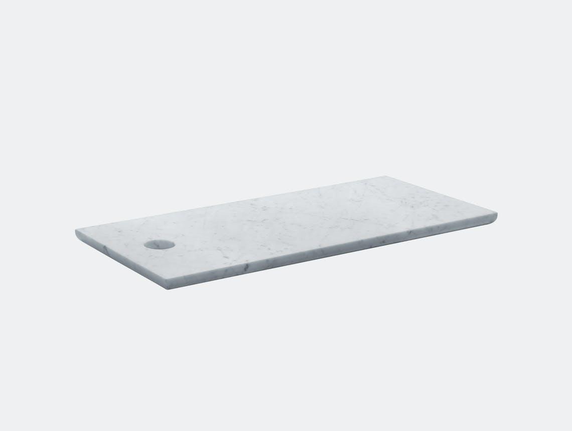 E15 Cut Cutting Board Rectangular Marble Philipp Mainzer