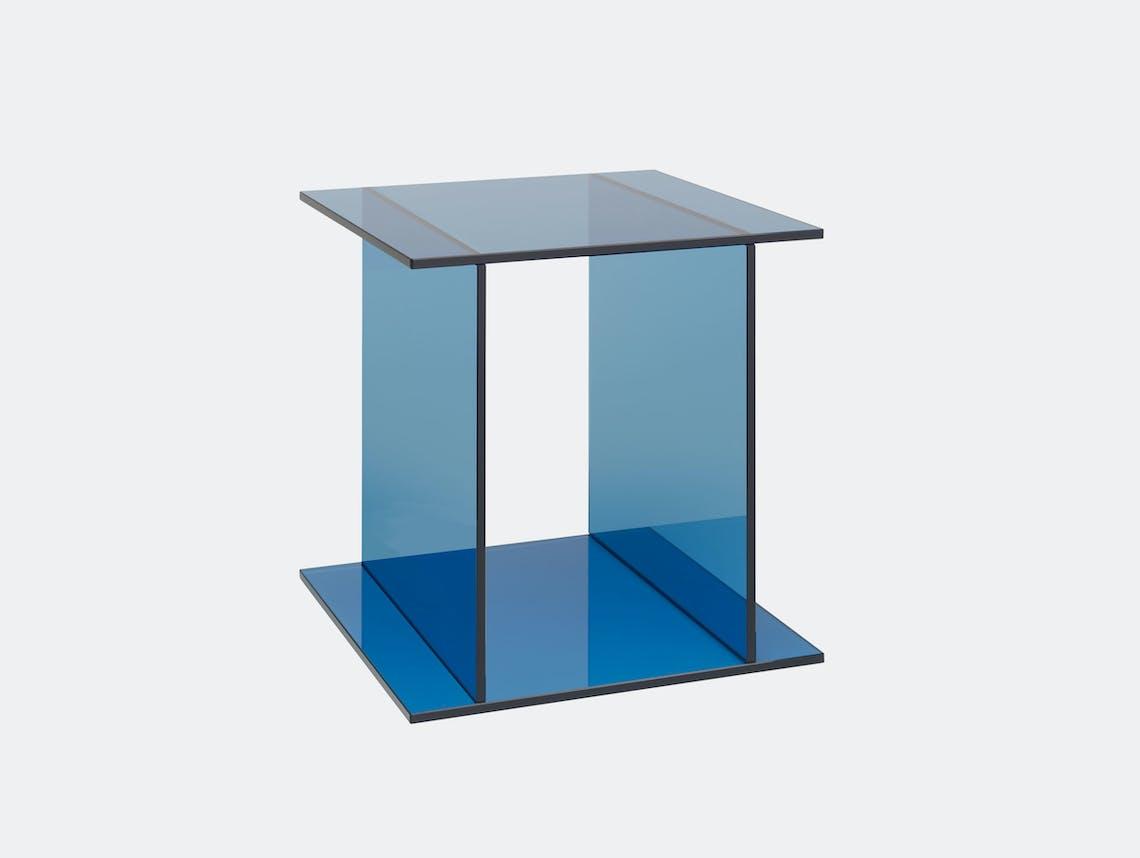 E15 Drei Side Table Blue Philipp Mainzer