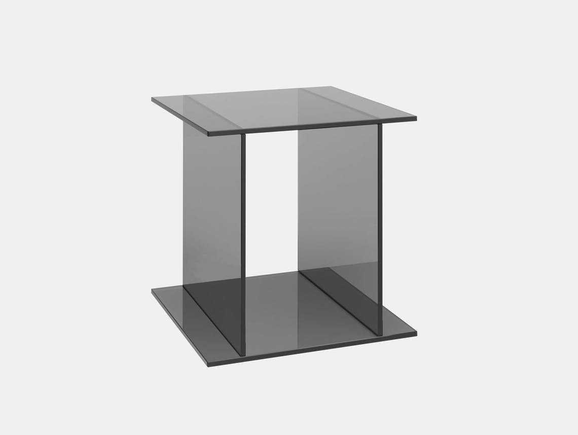 E15 Drei Side Table Grey Philipp Mainzer