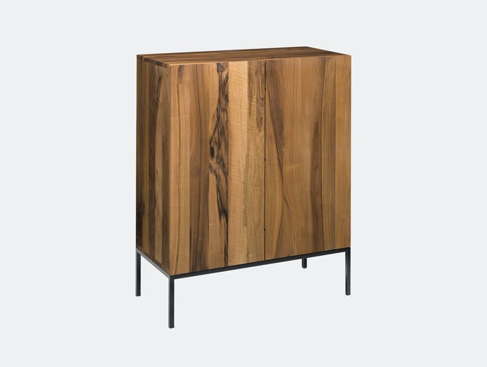 E15 Fariba Sideboard Walnut Black Philipp Mainzer