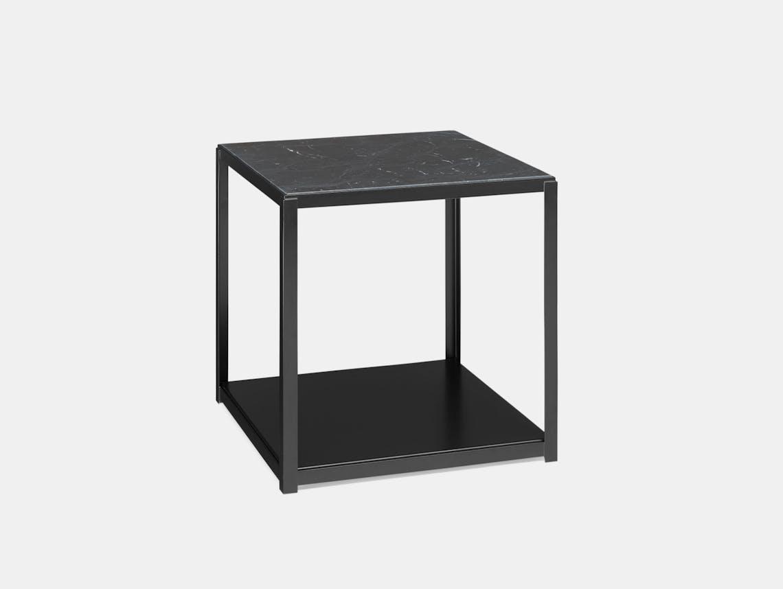 E15 Fortyforty Side Table Black Marble Ferdinand Kramer