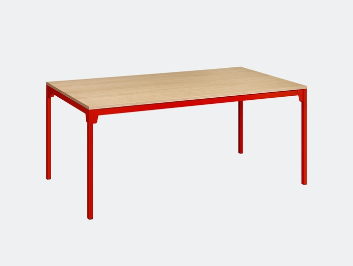 E15 Frankfurt Table Oak Red Ferdinand Kramer