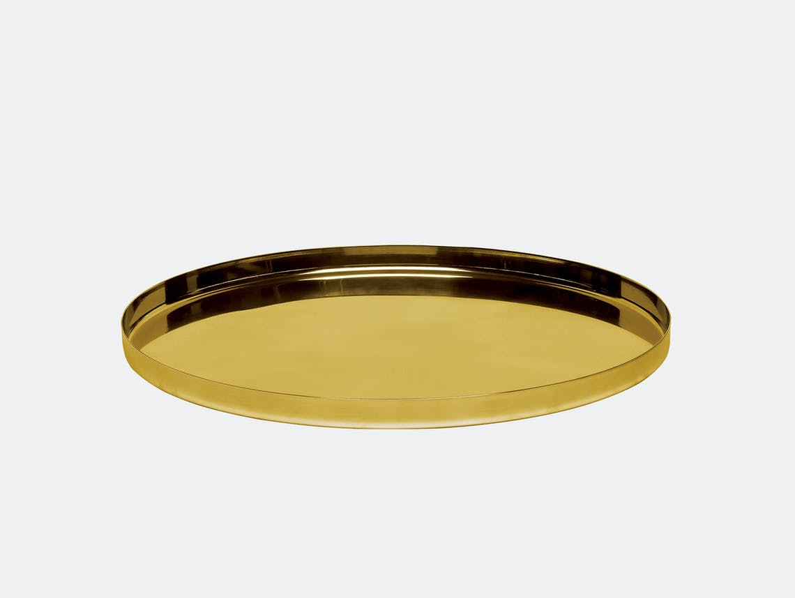 E15 Habibi Tray Brass Philipp Mainzer