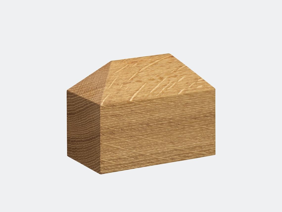 E15 Haus Paperweight Oak Hip Roof Jan Philip Holler