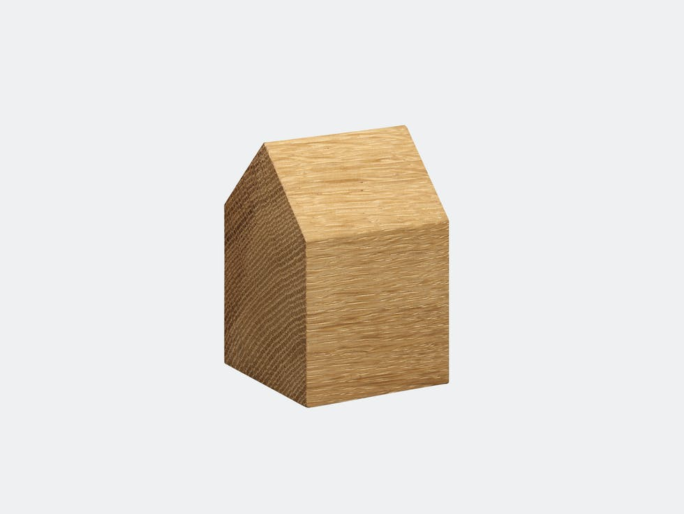 Haus Paperweight - Wood image