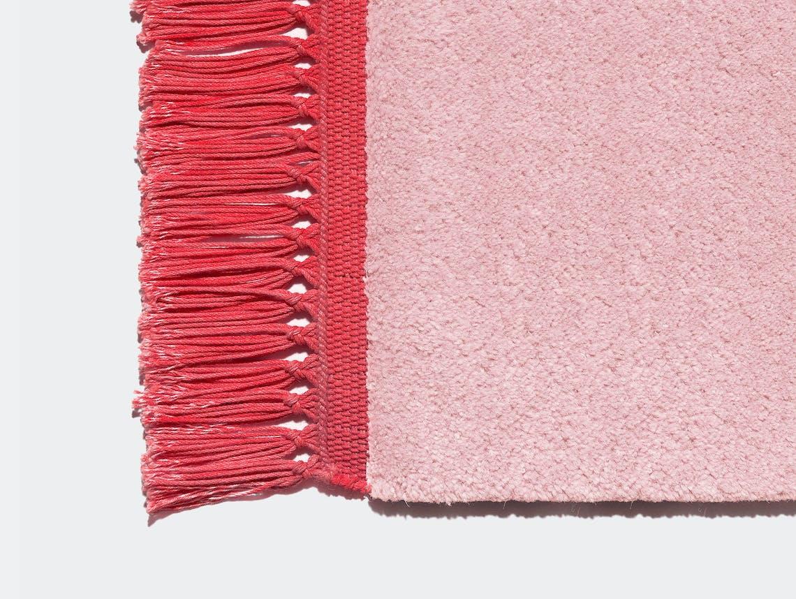 E15 Kavir Rug Antique Pink Luminous Red Philipp Mainzer Farah Ebrahimi