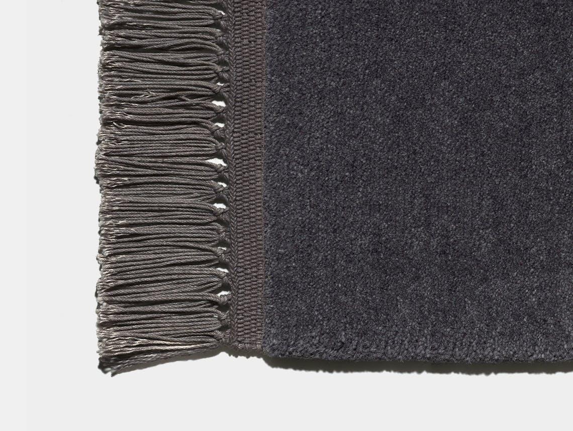 E15 Kavir Rug Black Grey Slate Grey Philipp Mainzer Farah Ebrahimi