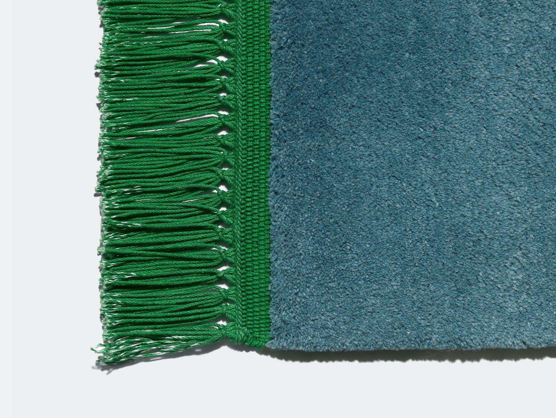 E15 Kavir Rug Ocean Blue Emerald Green Philipp Mainzer Farah Ebrahimi