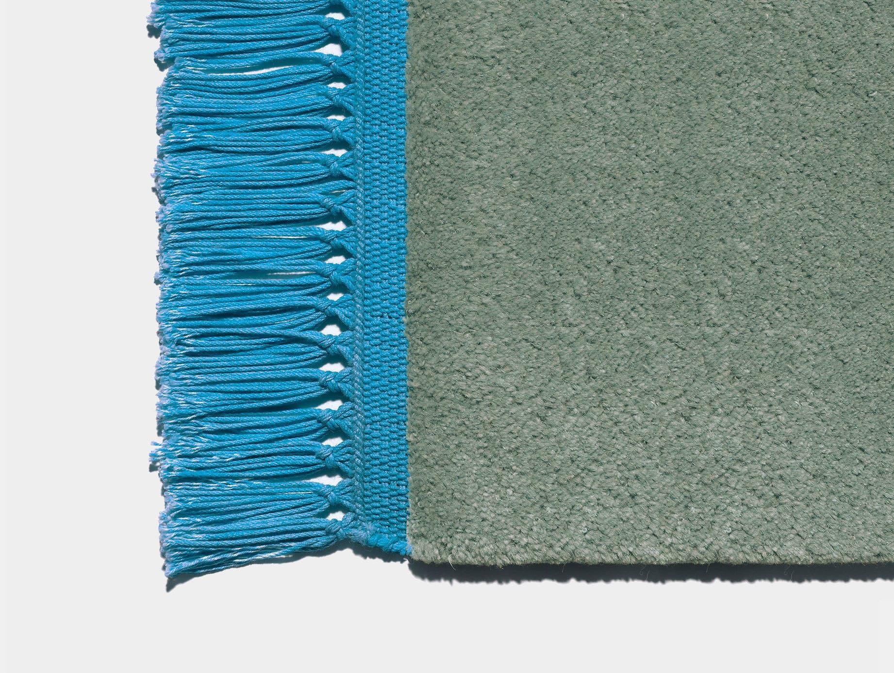 E15 Kavir Rug Pale Mint Turquoise Blue Philipp Mainzer Farah Ebrahimi