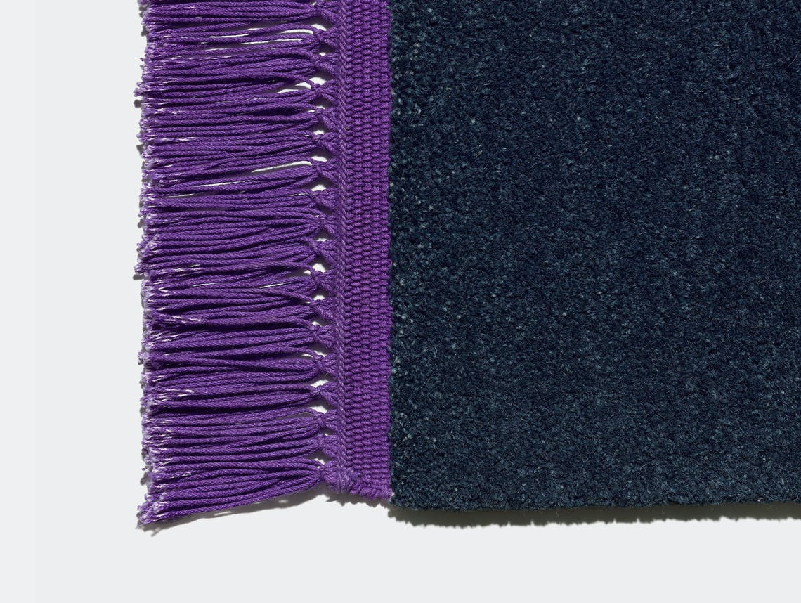 E15 Kavir Rug Sapphire Blue Signal Violet Philipp Mainzer Farah Ebrahimi