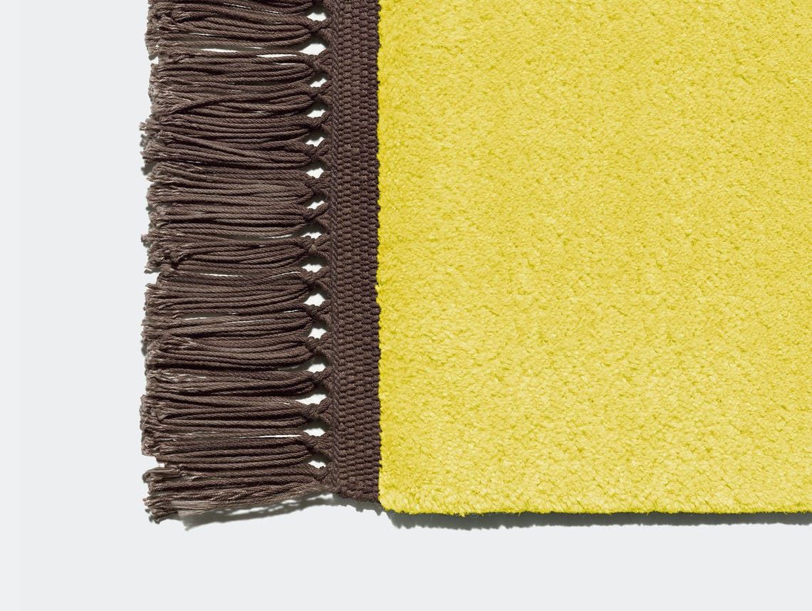 E15 Kavir Rug Zinc Yellow Fawn Brown Philipp Mainzer Farah Ebrahimi