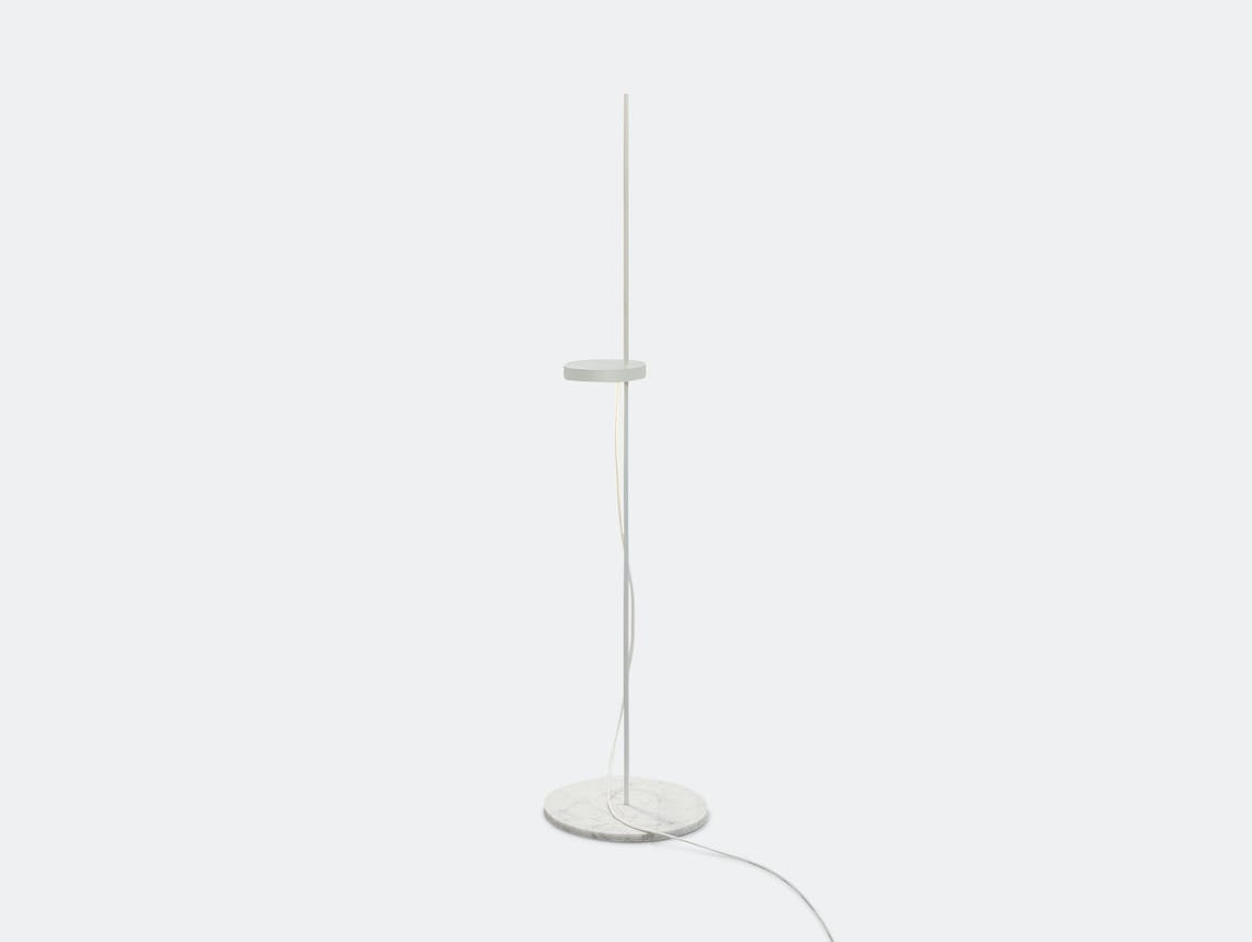 E15 Palo Floor Light White Michael Raasch