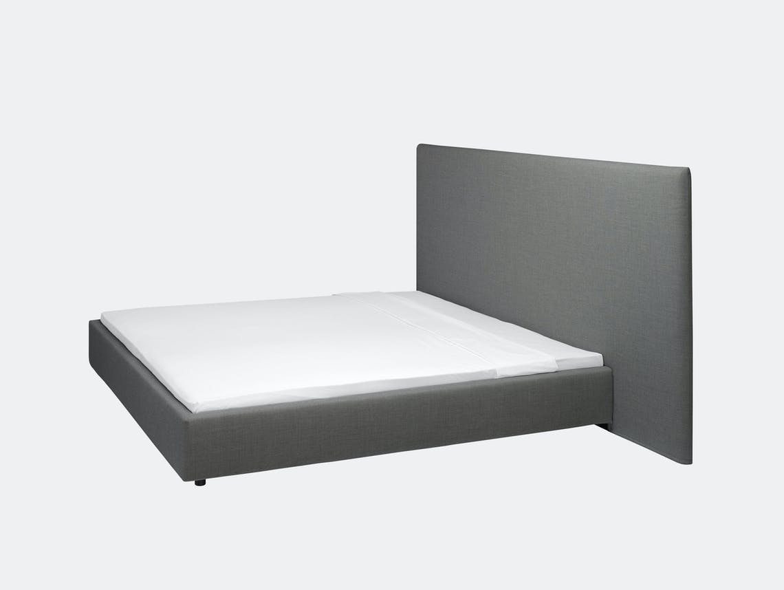 E15 Pardis Bed Grey Philipp Mainzer